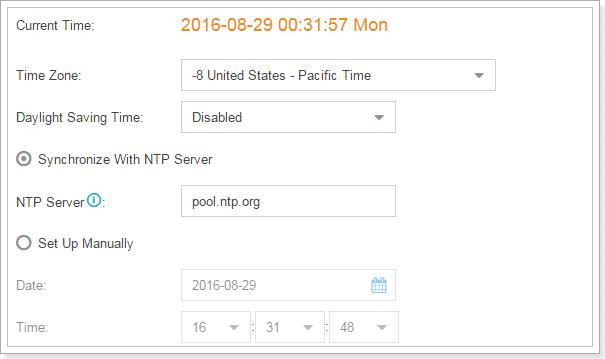 How to Setup Yeastar S-Series VoIP PBX as NTP Server