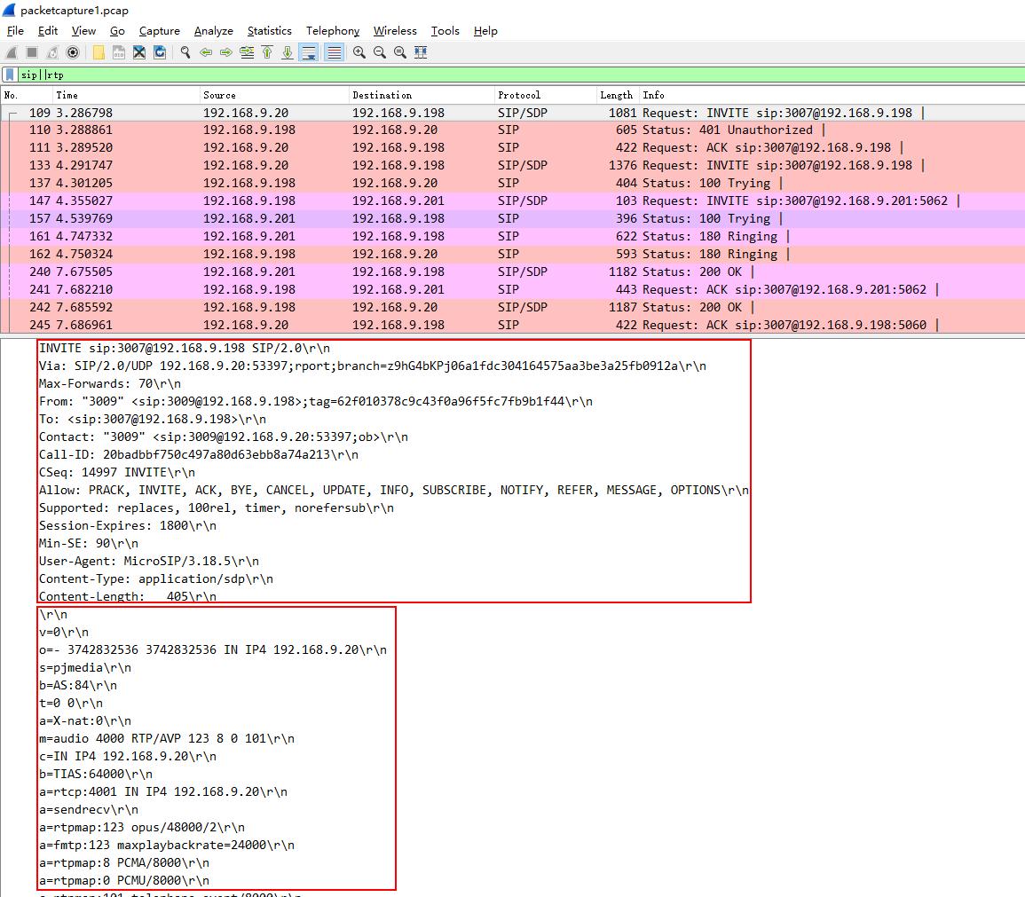 How to Analyze SIP Calls in Wireshark – Yeastar Support