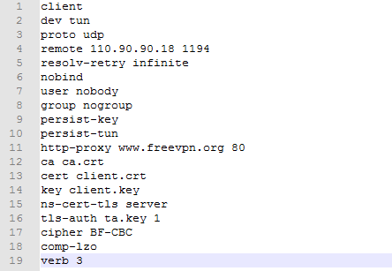 OpenVPN Client Configuraiton Guide – Yeastar Support