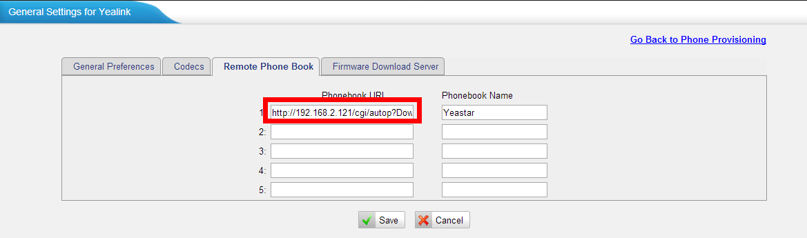 How to Configure Remote Phone Book – Yeastar Support