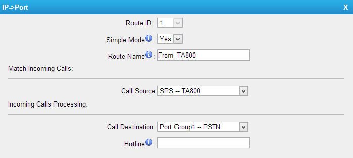 IP Port Route